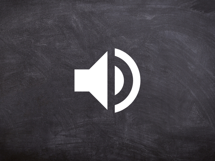 A thumbnail image of a sound sign designating Webservices
