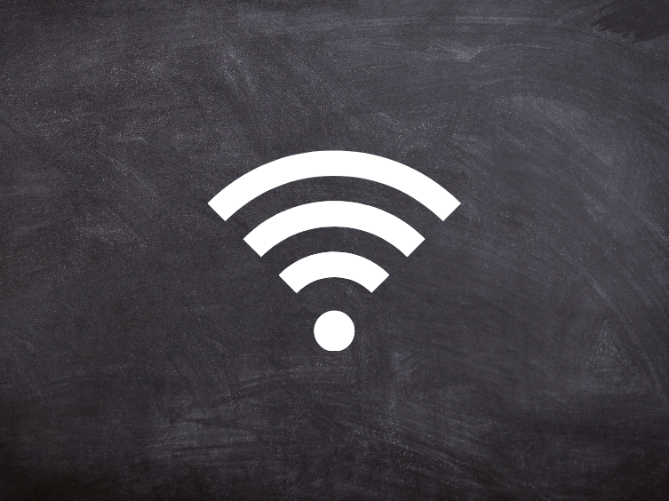 A thumbnail image of a wi-fi signal designating Exhibition Info