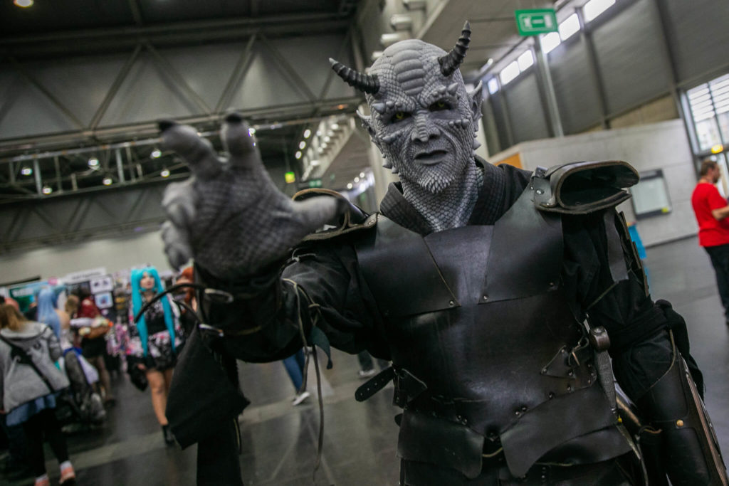 An image from the Vienna Comic Con Fantasy Writers event with a description of the event