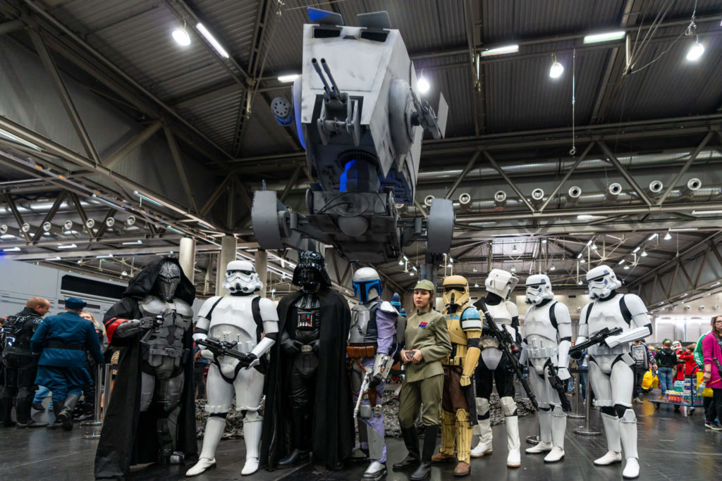 An image from the Vienna Comic Con Fan Groups