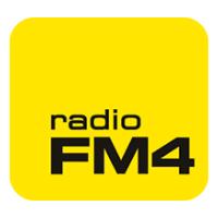 The logo of Radio FM4