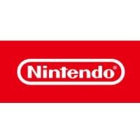 The logo of Nintendo