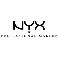 The logo of Nyx Professional makeup